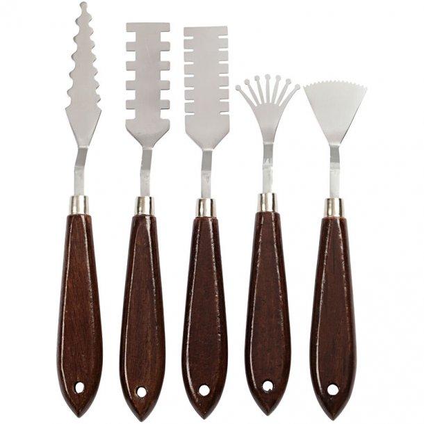Effekt Maleknive - sæt med 5 varianter
