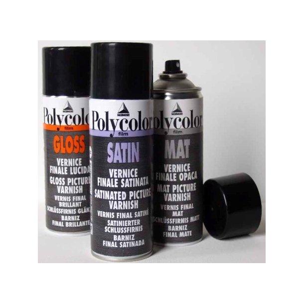 Maimeri Polycolor Lak, 400 ml spray - SATIN