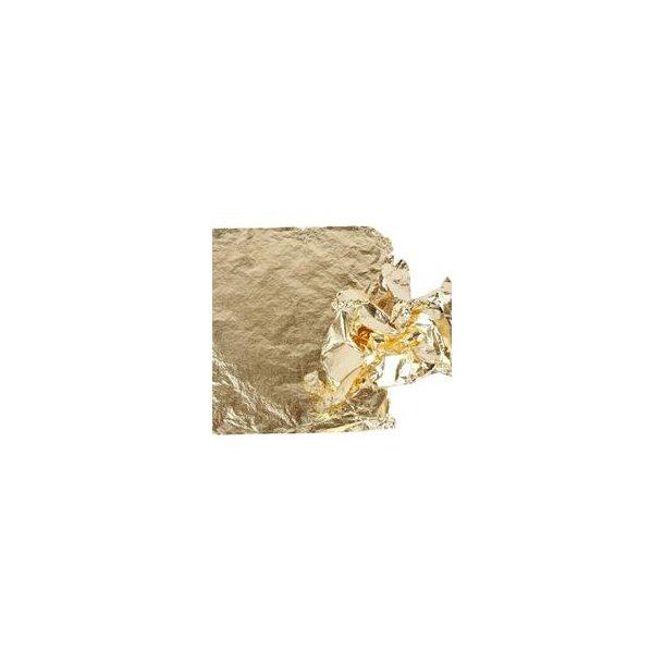 Bladmetal, GULD, 16x16 cm, 25 ark