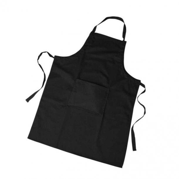Maleforklæde, sort, str 66x89 cm