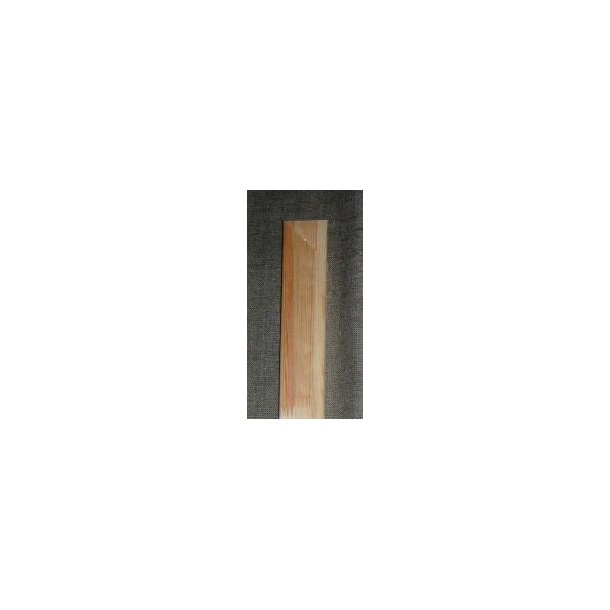90 cm - Blindrammeliste 16x43 mm - med hul