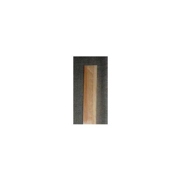 120 cm - Blindrammeliste 16x43 mm - med hul