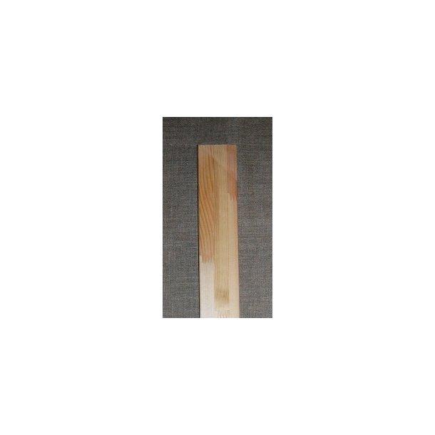 150 cm alm. Blindrammeliste 16x43 mm - med hul
